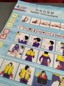 Koryo Air safety booklet