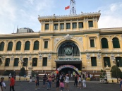 The old post office in Ho Chi Minh City