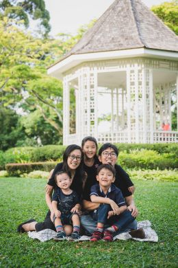 The century old pavilion at Singapore Botanic Gardens