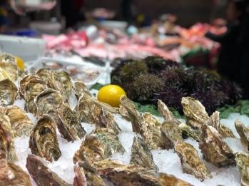 You can buy a lot of seafood at Mercat de La Boqueria but personally I am not a fan!