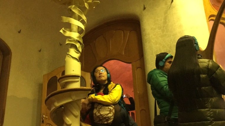 Try to find straight lines in Casa Batllo, it can be quite a challenge.