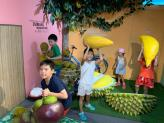 Durian without the smell at this museum