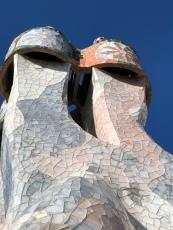 Chimney of Casa Batllo