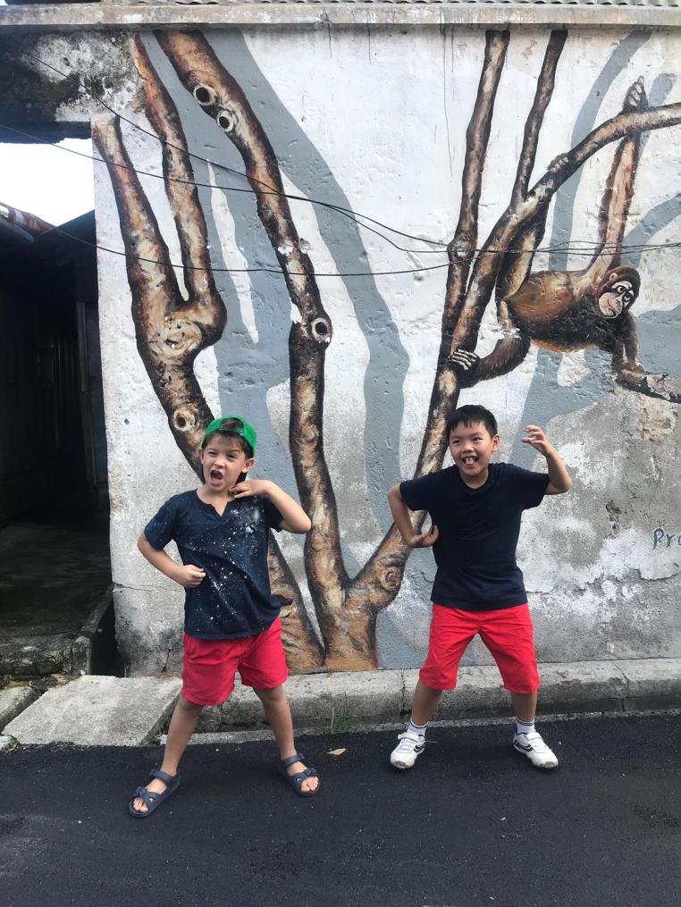 Some street art in George Town are not shown on the map. Keep your eyes opened