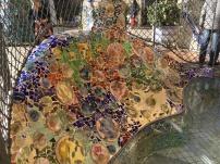 Beautiful mosaic of casa Batllo