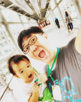 On the bridge of Petrona twin tower