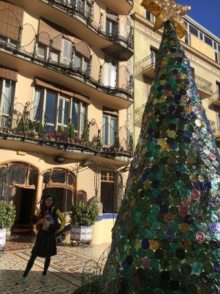 Christmas tree of casa batllo