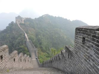great wall of china near tianjin