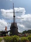 Maritime museum like a ship