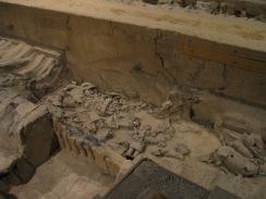Terracotta warriors in Xian