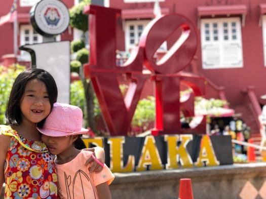 Love Melaka Sign