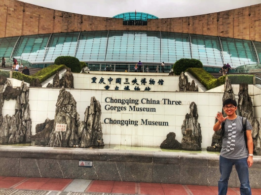 Chongqing China three gorges museum