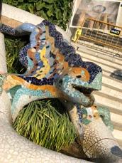 Lizard / salamander of Park Güell