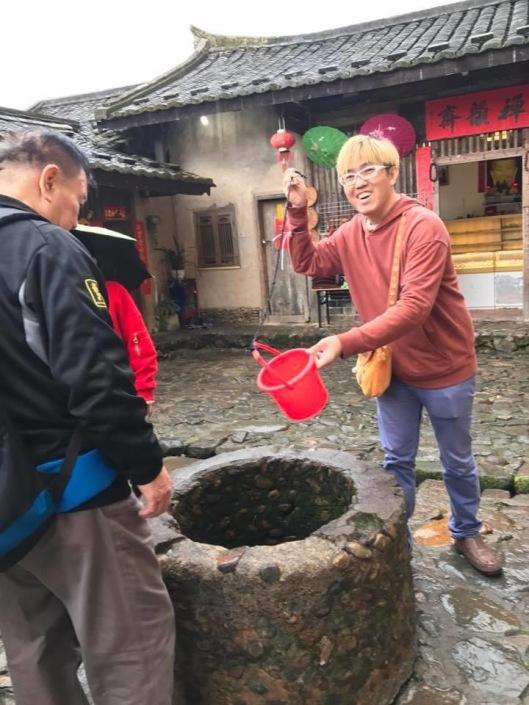 Well inside a Fujian tuluo.