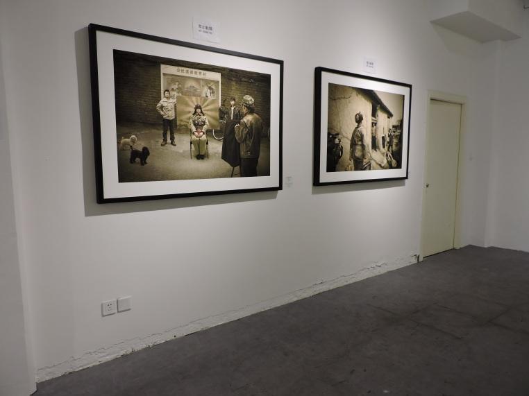 Several art galleries at 50 Moganshan Road art district