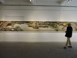 Lots of art galleries at 50 Moganshan Road art district