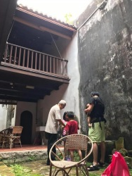 Air well in a house in Malacca