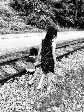 old railway line in Singapore