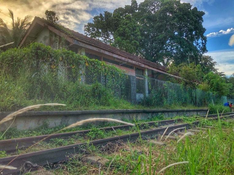 old railway station Bukit Timah