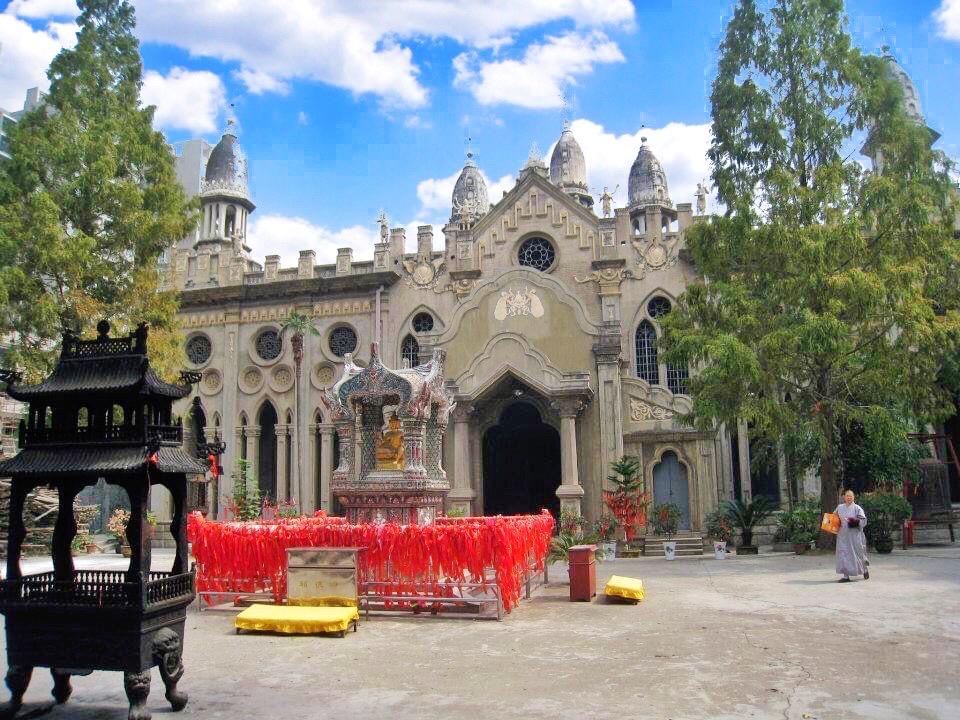 Gude temple 古德寺 in Wuhan