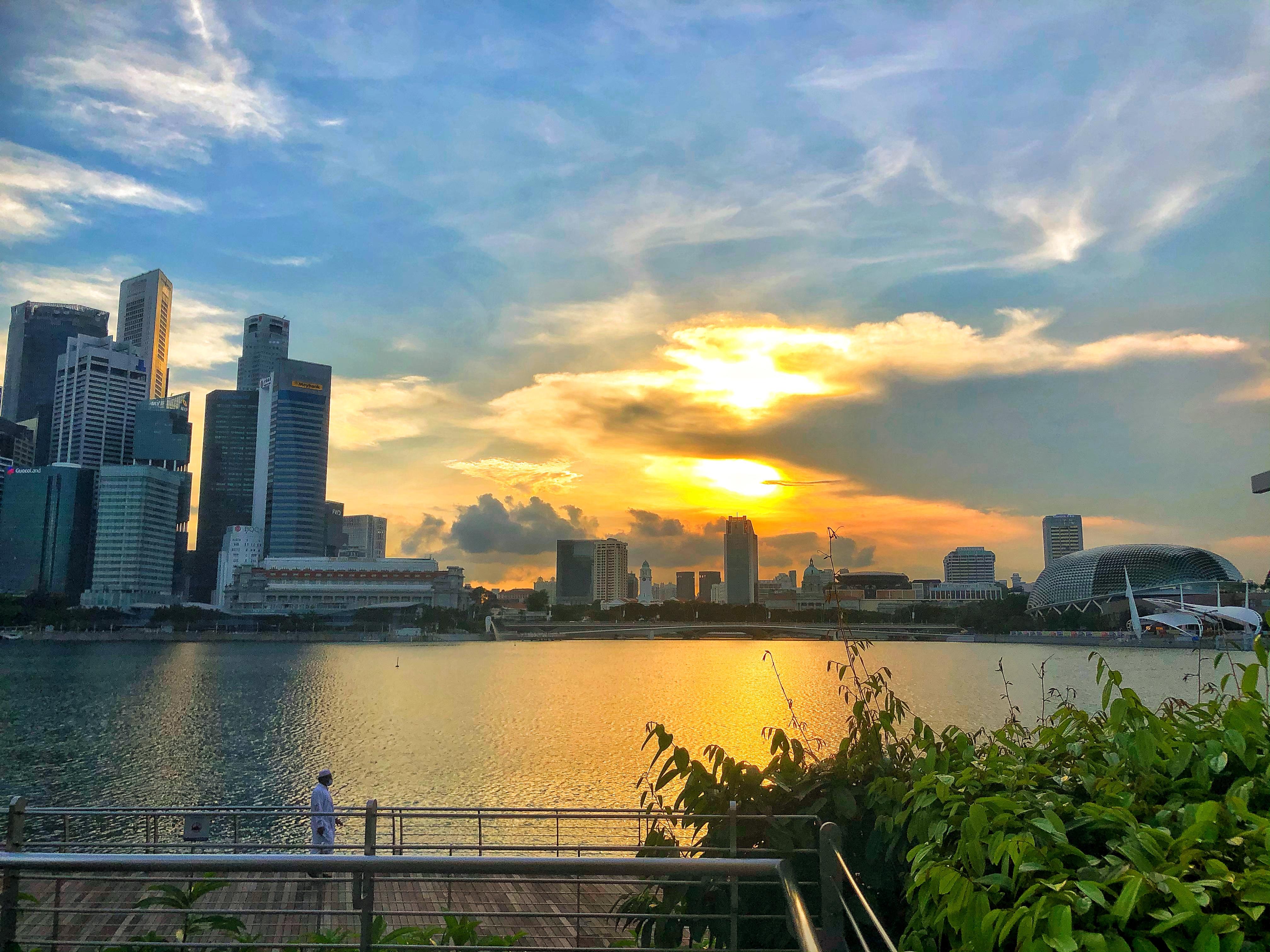 city view of Singapore