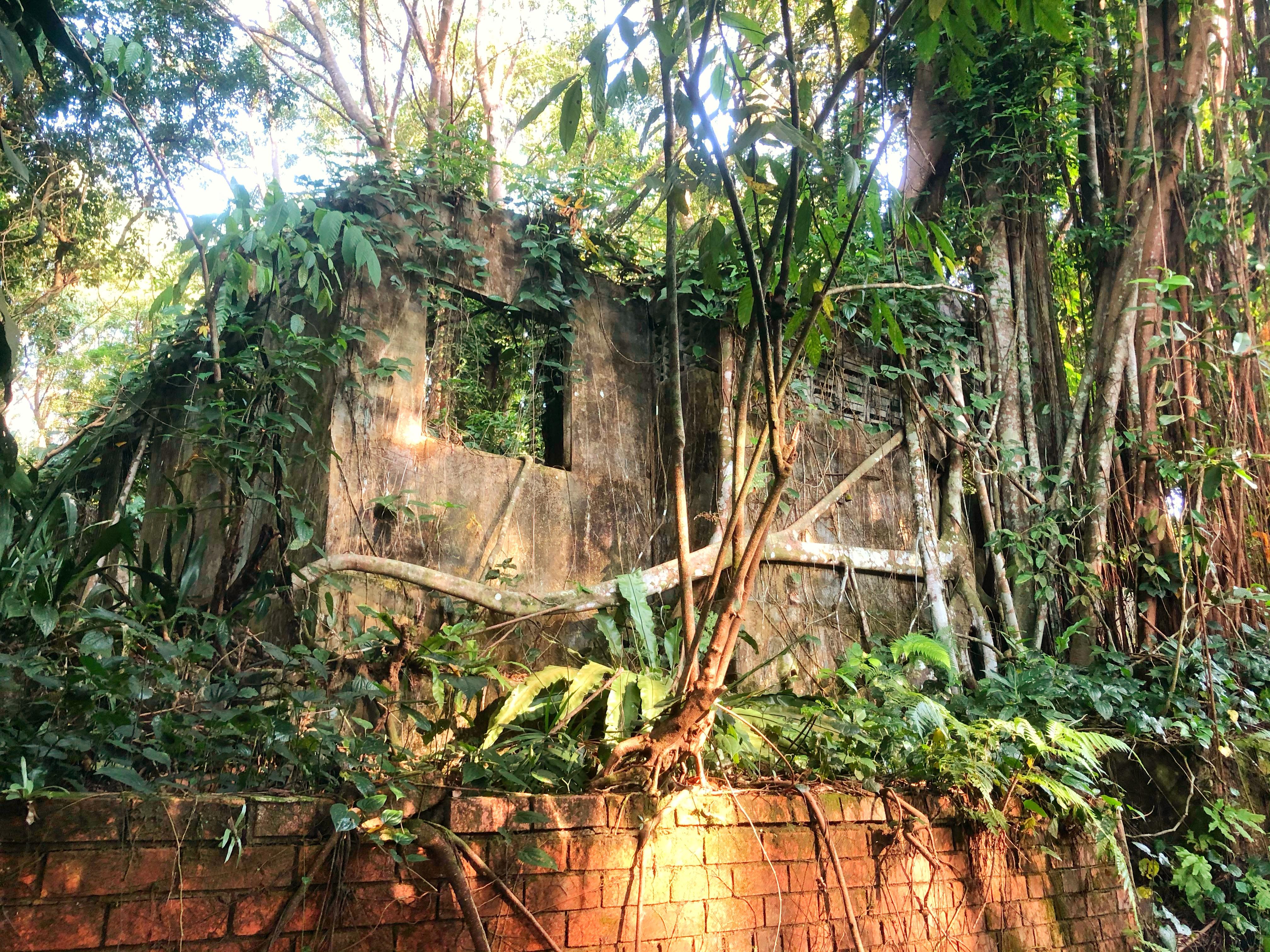 ruins at old Hainan Village